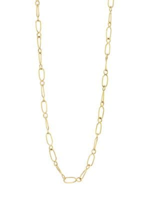 Temple St Clair Nature Deconstructed River 18k Yellow Gold Chain Necklace