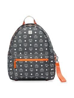 MCM. Resnick Logo Nylon Backpack 786e5ce9e04f4