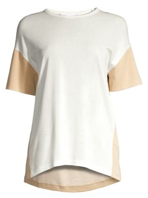 Boss Efira Drop Sleeve Colorblock Tee