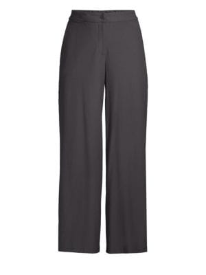 Eileen Fisher Wide Leg Crop Trousers