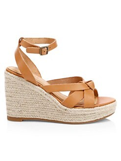 49ac8f98bff QUICK VIEW. Soludos. Charlotte Knotted Leather Platform Sandals