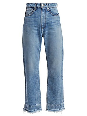 b3a2c62b2895 J Brand - Jules High-Rise Straight Leg Jeans - saks.com