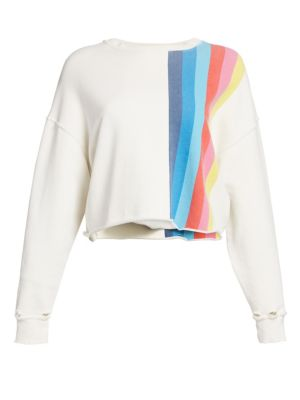 Re Done Raw Crewneck Sweatshirt