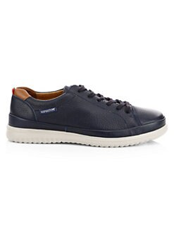 26cc2947b9ee5 Thomas Leather Lace-Up Sneakers BLUE. QUICK VIEW. Product image