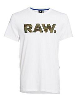 a19a7de3214 G-Star RAW. Organic Cotton Logo Tee