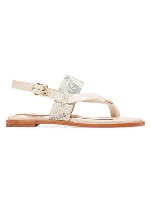 399ca1eb56bb Schutz - Ilara Leather Sandals - saks.com