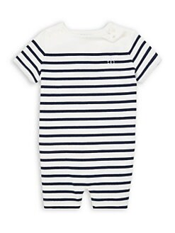 305ad4114237 Product image. QUICK VIEW. Ralph Lauren. Baby Boy s Stripe Shortall