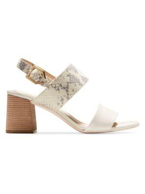 9ea605d697b Cole Haan - Premium Avani City Leather Sandals - saks.com