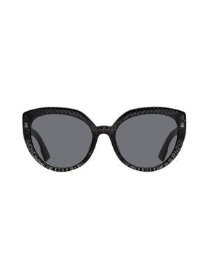 Dior 56mm Cat Eye Sunglasses