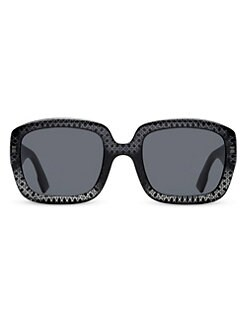 55c4b90beaf2e Dior 54MM Square Sunglasses BLACK. QUICK VIEW. Product image