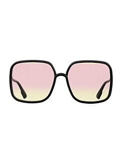 9efc2beec7 Oversized. Dior - 59MM Square Sunglasses