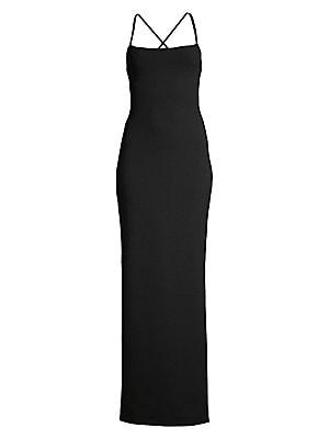 3c507d05612 Solace London - Saruo Sleeveless Crossback Dress - saks.com