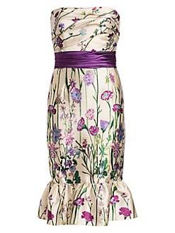 307a6c654da Product image. QUICK VIEW. Marchesa Notte. Stapless Floral Cocktail Dress