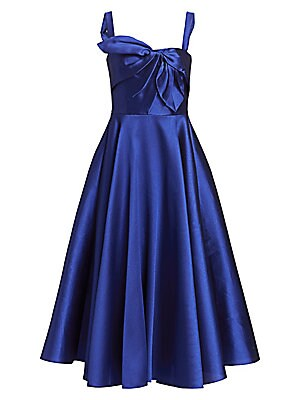 55e8902c Marchesa Notte - Sleeveless Stretch Crepe Ruffle Gown - saks.com
