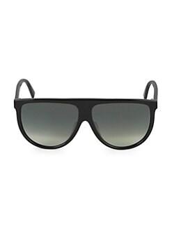 276436e36ac CELINE. 62MM Flat Top Pilot Sunglasses
