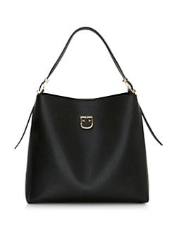 Furla. Medium Belvedere Leather Hobo Bag 58f0e3c8cbf70