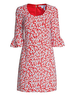 Floral Bell Sleeve Shift Dress by Draper James
