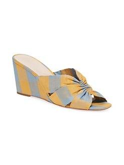 bab10d4a40 Loeffler Randall. Sonya Cinched Wedge Sandals