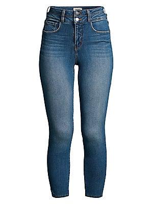 aa5b71c34bc4e0 Rag   Bone - Nina High-Rise Ankle Skinny Jeans - saks.com
