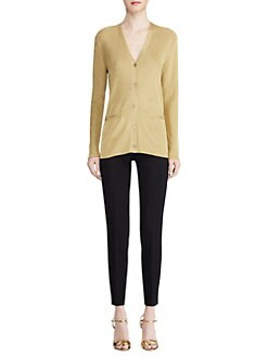 cf9dfb7de5 Product image · Ralph Lauren Collection. Knit Lurex Cardigan Sweater