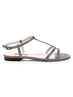 d284a05b51c QUICK VIEW. SJP by Sarah Jessica Parker. Honoree Crystal Embellished  Gladiator Sandals