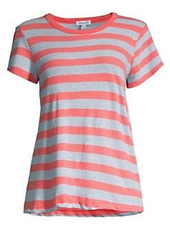 Splendid. Lennon Striped Short-Sleeve Tee 152f031ec