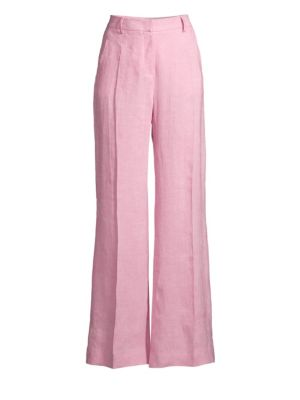 Weekend Max Mara Pants Tonico Flaxlinen Trousers