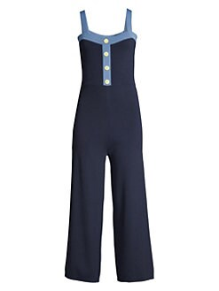 13e3ef89b162 Staud. Scotch Cotton Jumpsuit