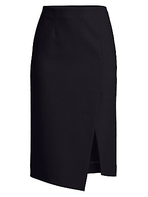 Crepe Pencil Skirt by Sandro