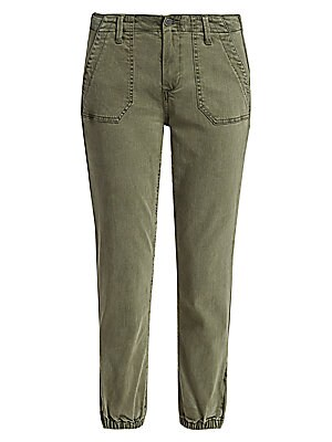 Retro Style North Carolina Silhouette Womens Jogger Pants Capri Pant