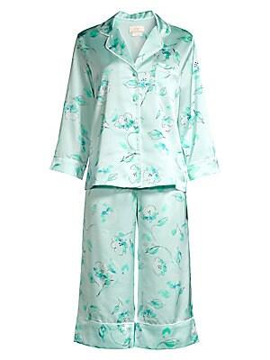 c7f058987 Kate Spade New York - Bridal Floral Capri Pajama Set - saks.com