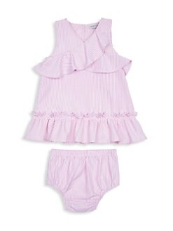 Baby Pink Gingham Bow Velour Smocked Babygrow By Dandelion Easy To Repair