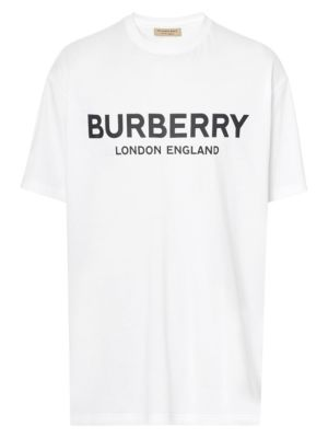 Burberry Logo Print Short Sleeve Tee