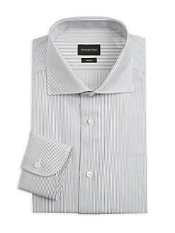 128ec2bb Trofeo Striped Dress Shirt BLACK. QUICK VIEW. Product image