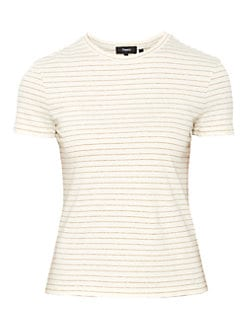 NWT $215 Theory Wrapped Ribbed Top