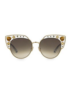 a9c5a61268 Product image. QUICK VIEW. Jimmy Choo. Audrey 54MM Cat Eye Sunglasses