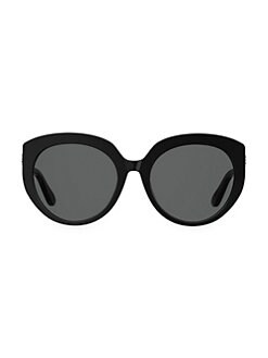 33503c9f98 QUICK VIEW. Jimmy Choo. 57MM Round Embellished Sunglasses