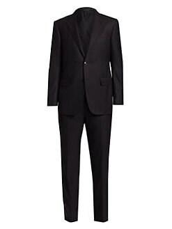 8804da9ee77640 Product image. QUICK VIEW. Ermenegildo Zegna. Single-Breasted Wool Suit