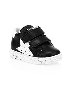d89b16dcaa28 Baby   Little Kid s Venus Star Leather Sneakers BLACK. QUICK VIEW. Product  image