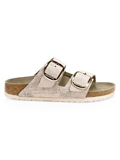 f9b91159d26 QUICK VIEW. Birkenstock. Arizona Big Buckle Metallic Leather Sandals