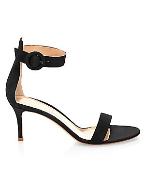 Portifino Suede Slingback Sandals by Gianvito Rossi