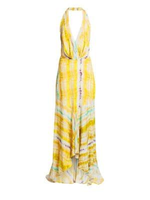 Silvia Tcherassi Dresses Ardell Sleeveless V-Neck Maxi Dress