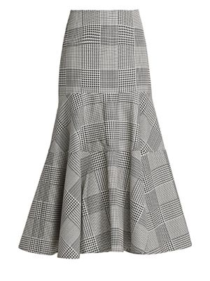 Silvia Tcherassi Skirts Bellia Plaid Flare Skirt