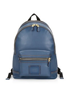 bdf42f434c2c QUICK VIEW. COACH. Academy Leather Denim Backpack