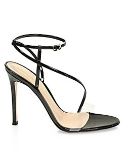 508c85a41ec QUICK VIEW. Gianvito Rossi. Strappy Patent Leather Stiletto Sandals