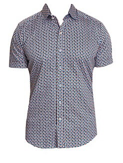 38a50a38250 QUICK VIEW. Robert Graham. Myron Geometric Short Sleeve Shirt