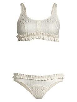 bf58e8c8e6fb8 Product image. QUICK VIEW. Lisa Marie Fernandez. Colby Ruffle Bikini Set