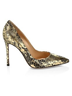 8223bef0433a Product image. QUICK VIEW. Gianvito Rossi. Metallic Jacquard Point Toe Pumps