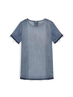 7e3449676 DL1961 Premium Denim. Little Girl's Denim Tee Dress