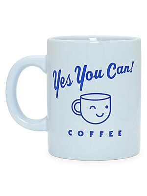 """Image of This mug tells it like it is. Plus it's ceramic, can be filled with hot or cold drinks, and looks super cute sitting on a desk. Ceramic Dishwasher & microwave safe Imported SIZING 3.75""""W x 4.75""""H x 3.25""""D Capacity: 11 oz. Gifts - Books And Music > Saks Fi"""